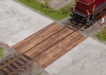 Noch 67105 Scale: 1:43, O Wooden Plank Crossing Laser Cut Kit